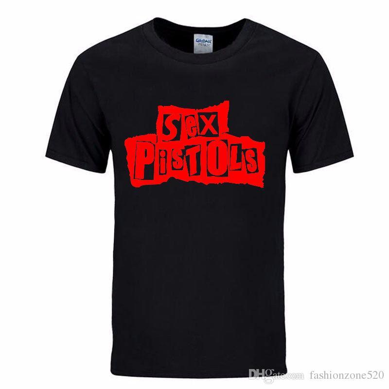 Punk rock Sex Pistols solto T-Shirt dos homens T Camisa Para Homens 2017 Novo de Manga Curta de Algodão Top Tee Casuais Camisetas Masculina