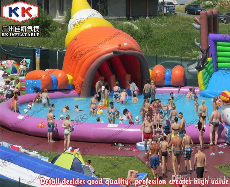 Acheter parc aquatique de piscine gonflable pour enfants for Piscinas inflables precios