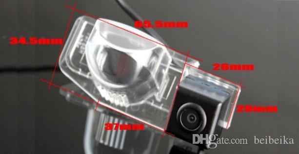Автомобильная камера заднего вида для Mazda 8 Mazda8 ly 2006~2014 камера заднего вида / HD CCD RCA NTST PAL / фонарь освещения номерного знака OEM