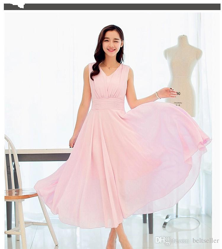 High quality Lightweight Sheer Chiffon Material Summer Garment Dress Fabric Solid Color Width 150cm in stock