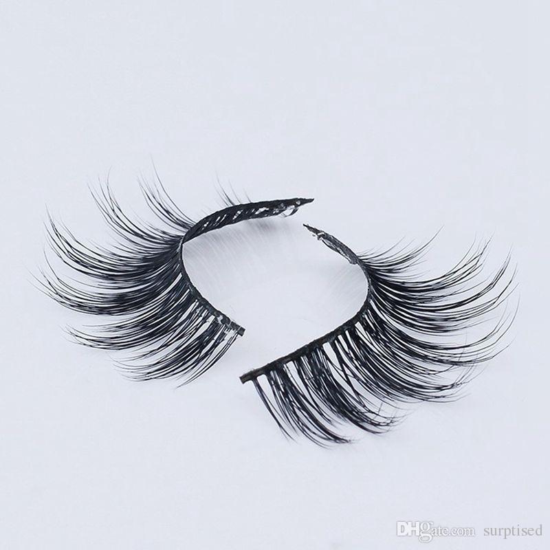 1 пара 3D ручной работы толстые норки ресницы природные накладные ресницы для красоты макияж поддельные ресницы расширение 3d-06