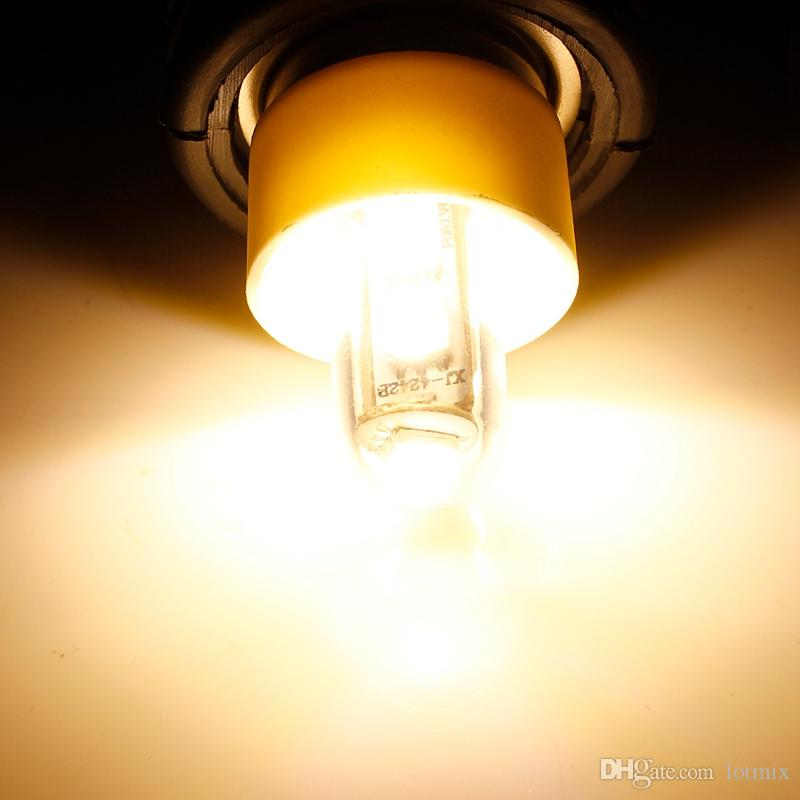 Hot Sale E14 1W 5050 SMD 7 LED White Warm White Corn Lights Bed Fridge Candle Lamp Spotlight Bedroom Bulb 220-240V