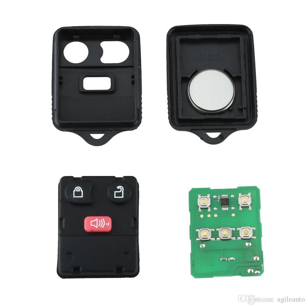Remote Control Car Key Fob Clicker Transmitter Keyless Entry Replacement for CWTWB1U212 / CWTWB1U331 AUP_41G