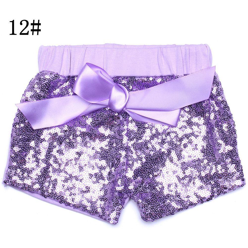Yürüyor bebek sequins yaz kızlar için şort saten ilmek kısa pantolon çocuk butik şort çocuk şeker pantolon 17-33