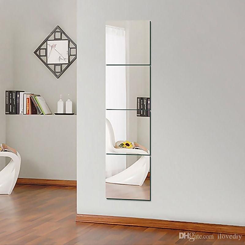 Fashion 3d Decorative Home Mirror Hexagon Vinyl Removable