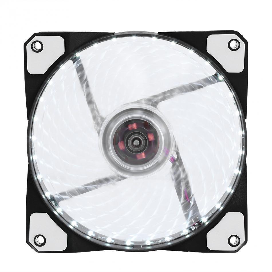 Ventilatori silenziosi a LED Radiante Dissipatore di calore Raffreddatore Ventola di raffreddamento PC PC Dissipatore di calore Ventilatore 120mm 3 Luci 12V Luminoso 3Pin 4Pin Plug