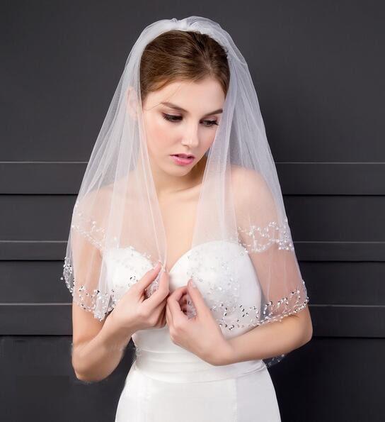 Wedding Accessory Tier Wedding Veil White Ivory Custom Made