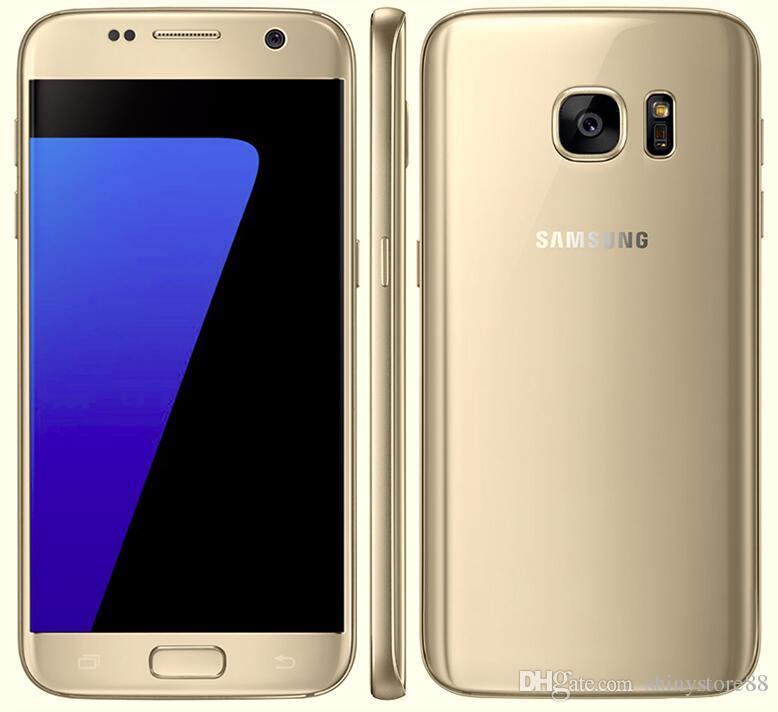تم تجديده الأصلي سامسونج غالاكسي S7 G930P G930V مقفلة الهاتف المحمول الثماني الأساسية 4GB / 32GB 5.1 بوصة الروبوت 6.0 12MP