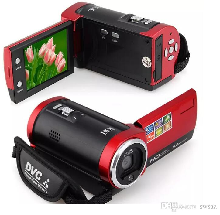 C6 Camera 720P HD 16MP 16x Zoom 2.7'' TFT LCD Digital Video Camcorder Camera DV DVR MOQ;1PCS