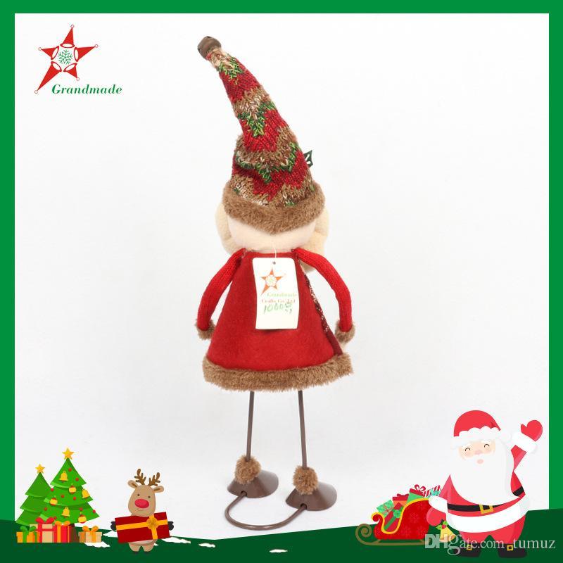 New creative dynamic, Santa Claus, snowman decoration, cloth doll, Christmas decoration, Christmas gifts