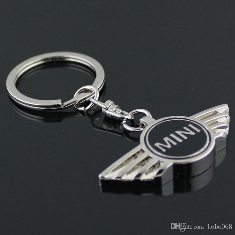 Keychain Car Silvery Keychain Keyring Key Chain Ring NeW Car Derection for BMW Mini