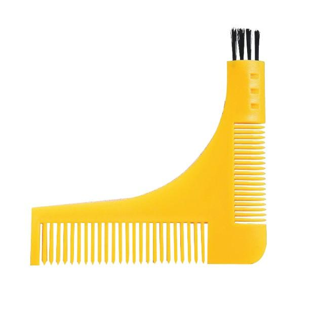 DHL Freeshipping Beard Symmetry Styling & Shaping Template Comb Trimming Facial Hair