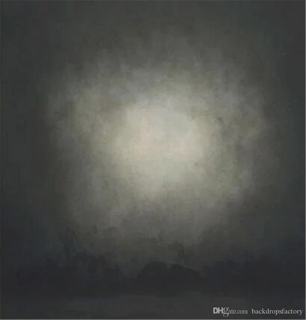 Dark Grey Abstract Photography Backdrop Vinyl Indoor Photo Booth