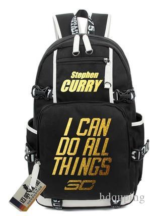 d3220852f16c 2019 2017 Stephen Curry Backpack Basketball School Bag Club Player Super  Star Schoolbag Outdoor Rucksack Sport Day Pack Lebron James Durrant From  Hdquping