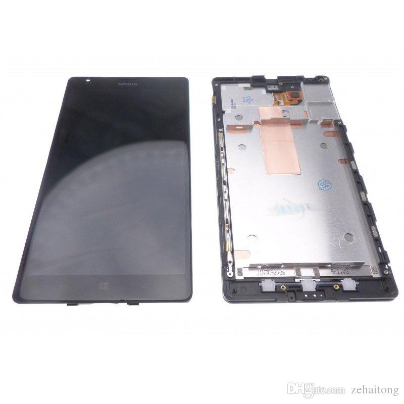 Full Touch Digitizer+LCD Screen Display FOR Nokia Lumia 1520 n1520~Frame