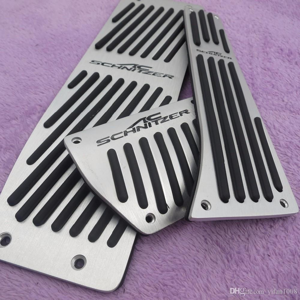 Car Accessories For BMW 3 5 series E30 E32 E34 E36 E38 E39 E46 E87 E90 E91 X5 X3 Z3 MT/AT pedal Pads Cover Stickers Car Styling