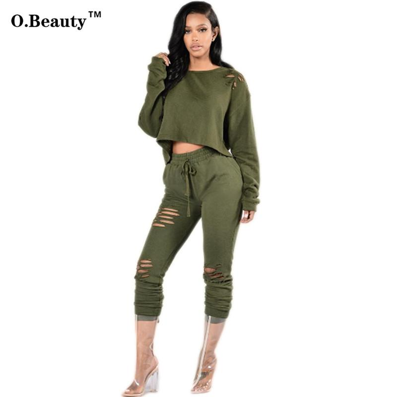 2018 Wholesale 2016 Autumn New Rompers Womens Bandage Jumpsuit Sexy Long  Sleeve Two Piece Set For Women Outfits Plus Size Playsuit Bodysuit From  Keviny, ... adb1c97109