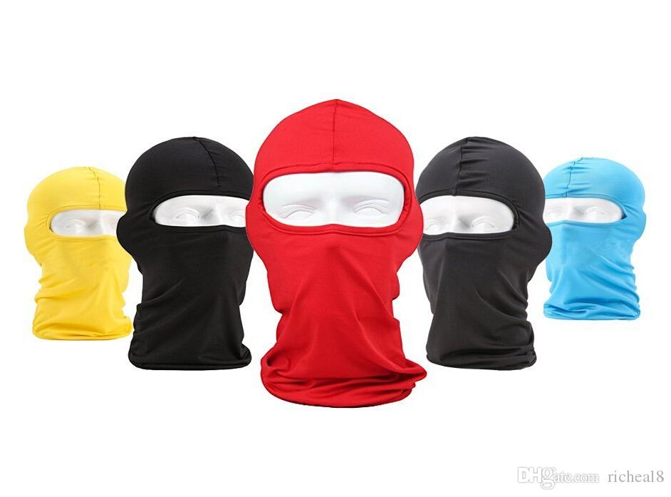 2017 Hot Sale Motorcycle Cycling Outdoor Balaclava Ski Full Face Mask Cover Hat Head Hood Uv Sun Wind Dust Protector