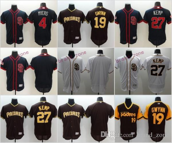 ... discount code for 2017 san diego padres jersey 4 wil myers 19 tony gwynn  27 matt ... 326d378ae