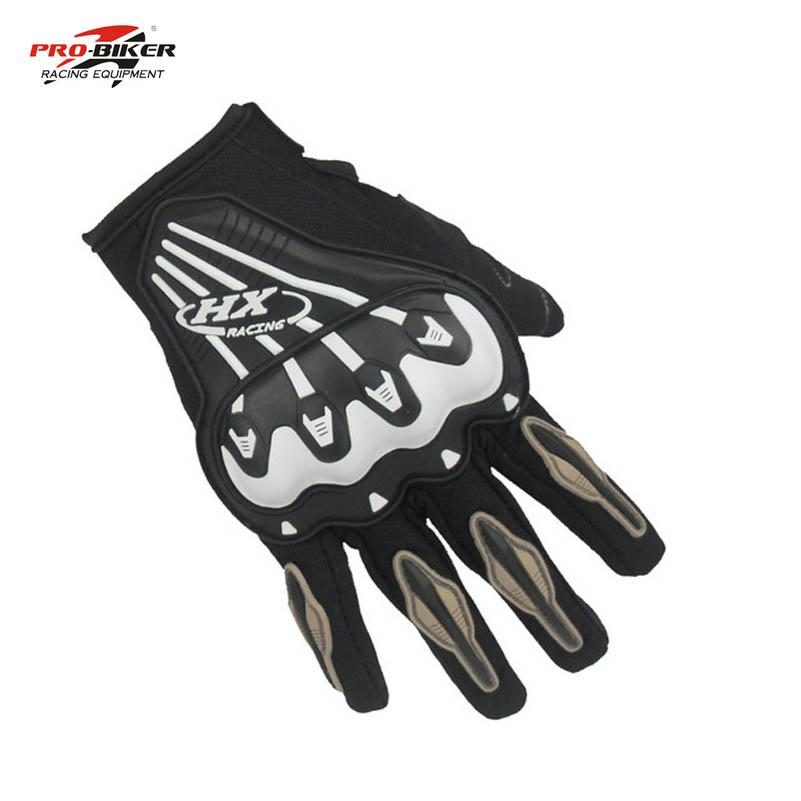 Wholesale- Probiker Motorcycle gloves racing full finger motorbike Moto Cycling Mountain Bicycle gloves motocross Protective Gears gloves