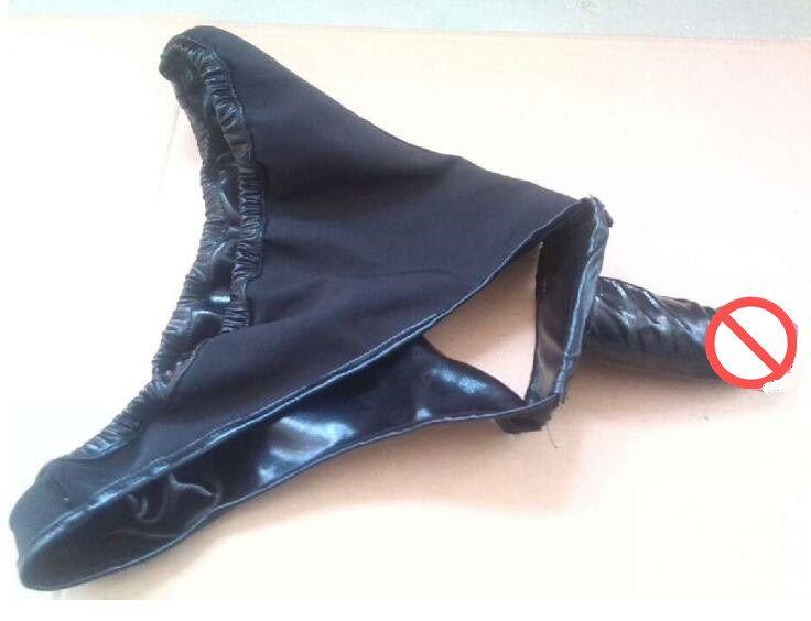 シリコーンディルドスの女性膣プラグパンツのブリーフのニッカーのニッカーのズボンのズボートブリーチオナニー製品大人の緊縛セックス玩具