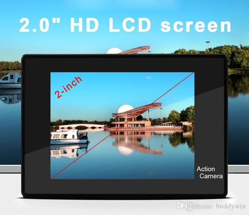 Macchina fotografica di azione di sport di 4k con la mini macchina fotografica impermeabile di sport del video registrazione di Wifi ultra H9 HD 1080p di telecomando con la scatola al minuto