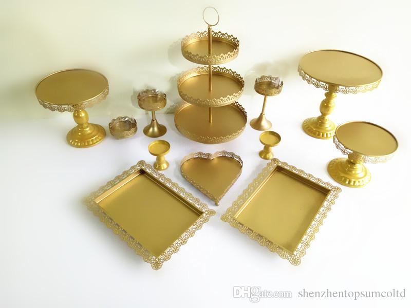 Of Cake Stand Wedding Cupcake Stand Set, Cookie Display Tray Set ...