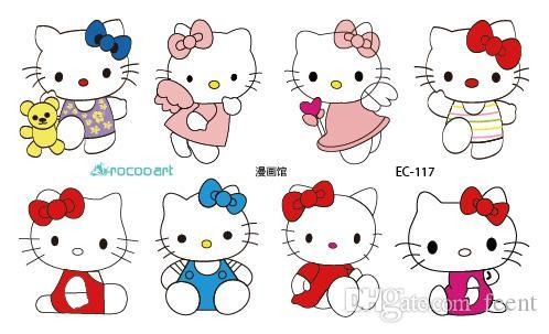 Wholesale Ec117 New ful Emotion Candy Color Girl Hello Kitty ...