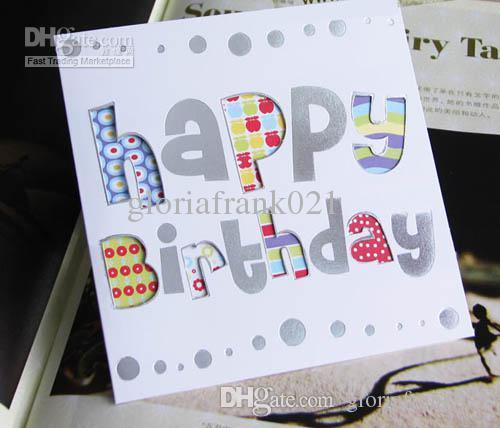 Medium Size Birthday Card Foldable With Envelope Greeting Card – Size of Birthday Card