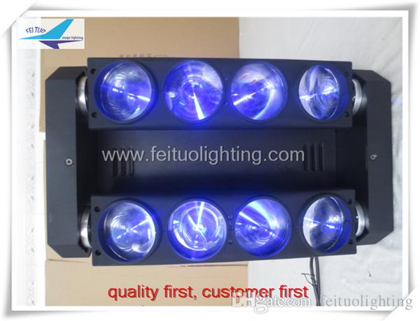 12 / professionnel spectacle éclairage araignée led faisceau mobile lumière principale 8x10w rgbw lumière principale mobile faisceau