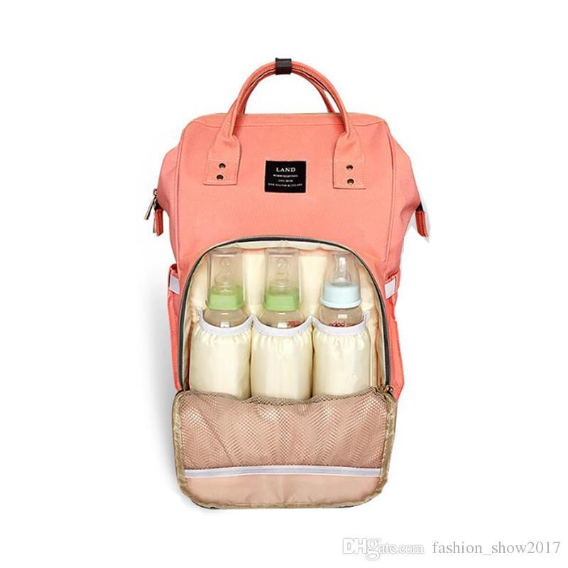 Mochila de pañales Insertar organizador Bolsa para cambiar pañales Bolsas de pañales Bolsa de bebé de momia Bolsas de viaje al aire libre de gran volumen