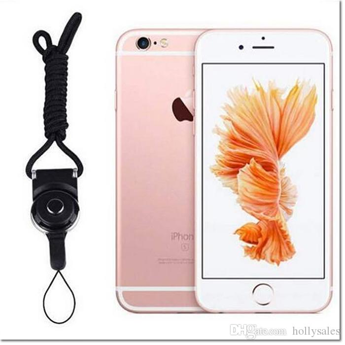 hot selling cellphone straps detachable lanyard + ring charms hanging cable for samsung iphone smart cellphone MP3 MP4 ID HOLDER also OK