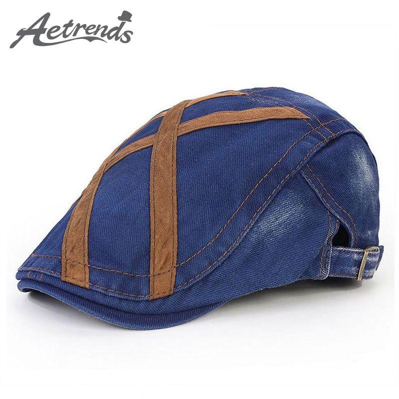 872318a2ea7e Al por mayor- [AETRENDS] Inglaterra boinas sombreros de invierno para  hombres gorra Boina casquette gorras planas Z-1524