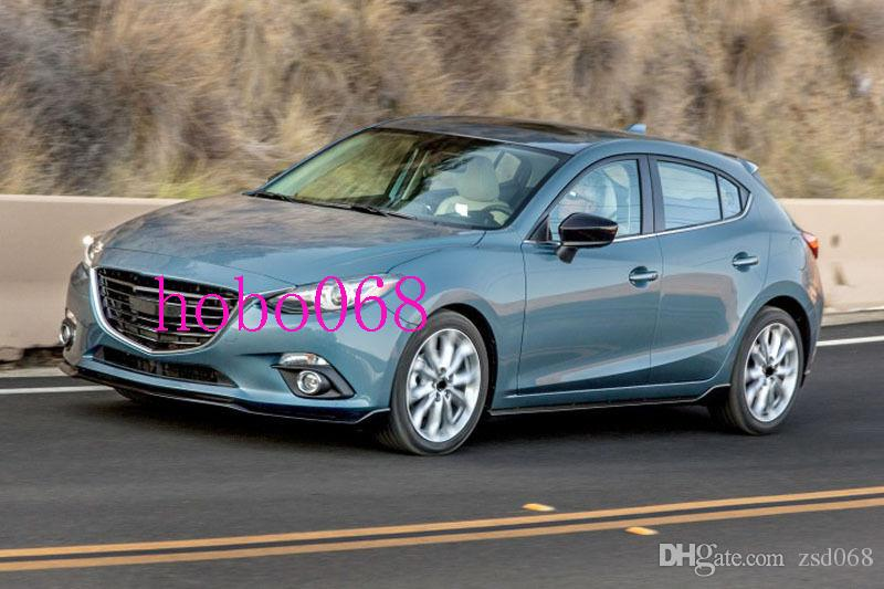 Pour 2014-16 Mazda 3 Axela voiture pare-chocs avant Gauche Droite Brouillard Feux Couvercle de boîtier Cadre