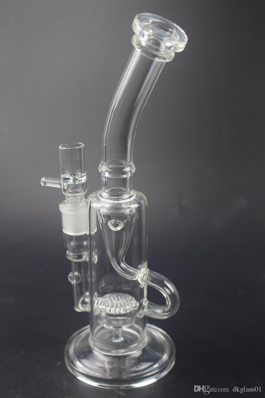 Manufacturers selling glass water pipe tobacco hookah water glass sound recycle bin