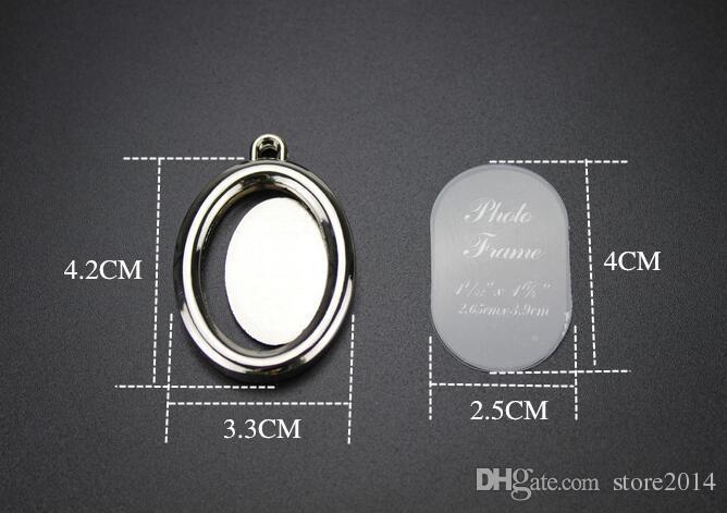 6 Designs Casal Coração Rodada Moldura Quadrada Foto Frame Chave Da Foto Chaveiros Liga de Zinco Anel Chave