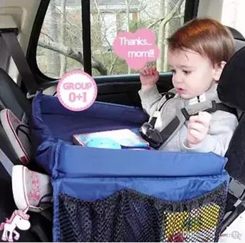 Car Styling High Quality Waterproof Table Car Seat Tray Storage Kids ...