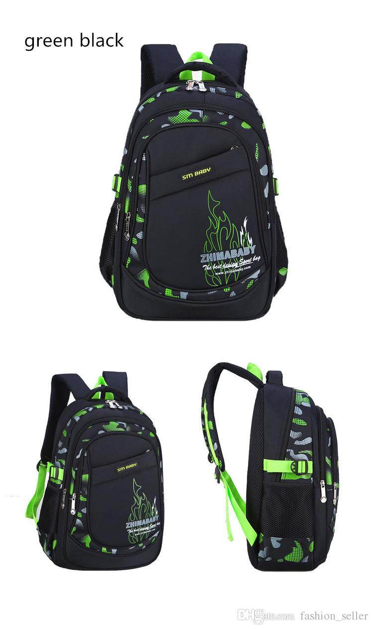 Waterproof Backpack Boys & Girls' Casual Backpacks Outdoor Sports Bags Teenager Students School Bag Multicolors Fast Shipping