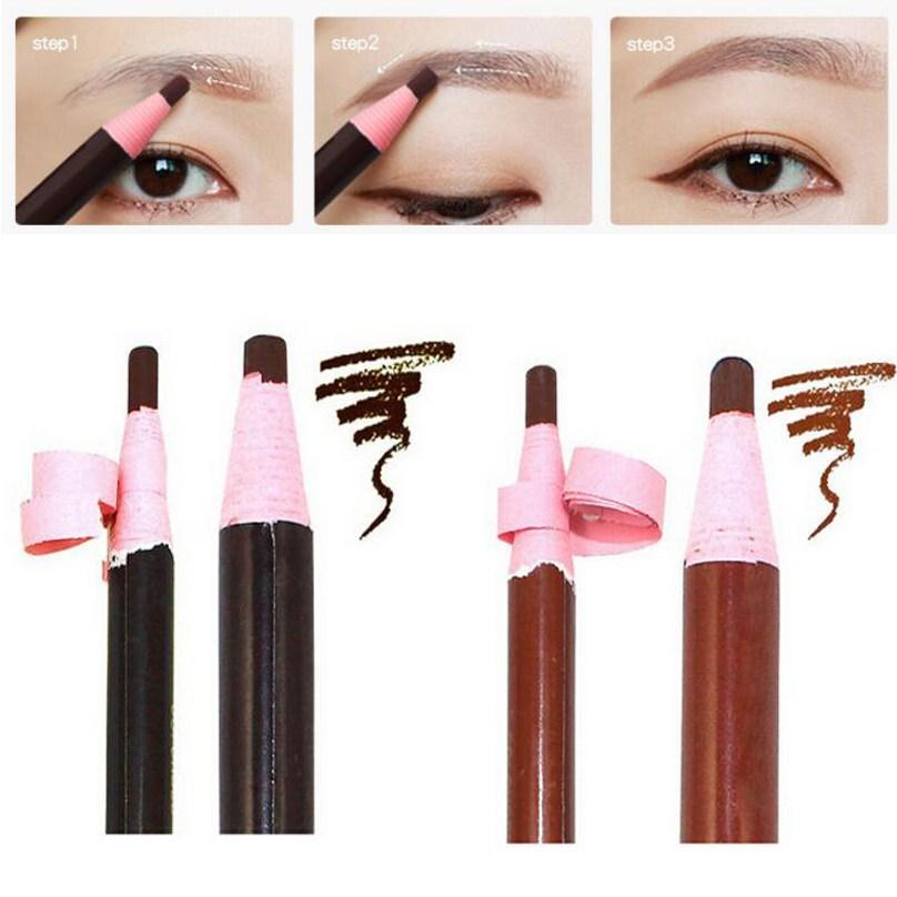 3pcs Eyebrow Pencil Professional Waterproof Eye Brow Pencil Beauty Cosmetics Eye Pen Make Up Tool Natural Eyebrow Enhancer