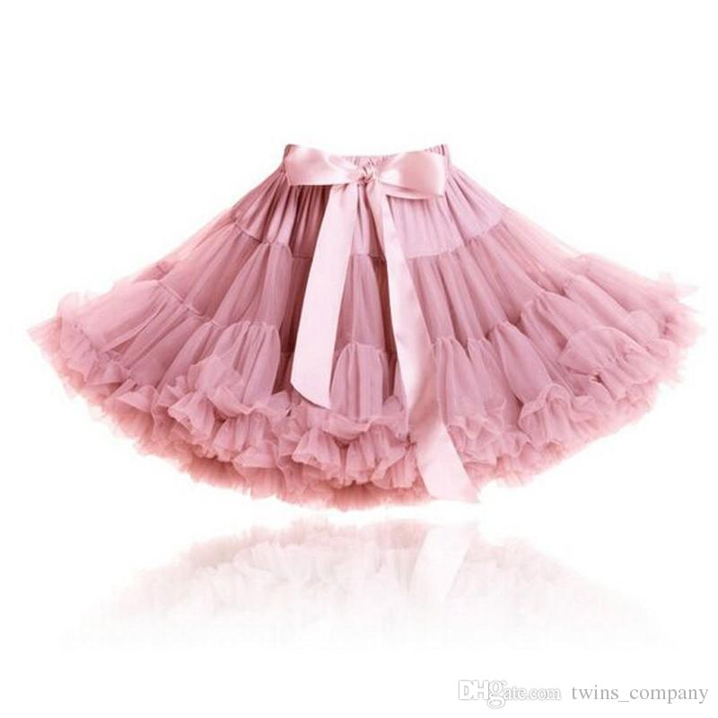 90b66b5c6c8b Pettiskirt with Ruffle Baby Tutu Skirt One Piece Retail Girl Skirt ...