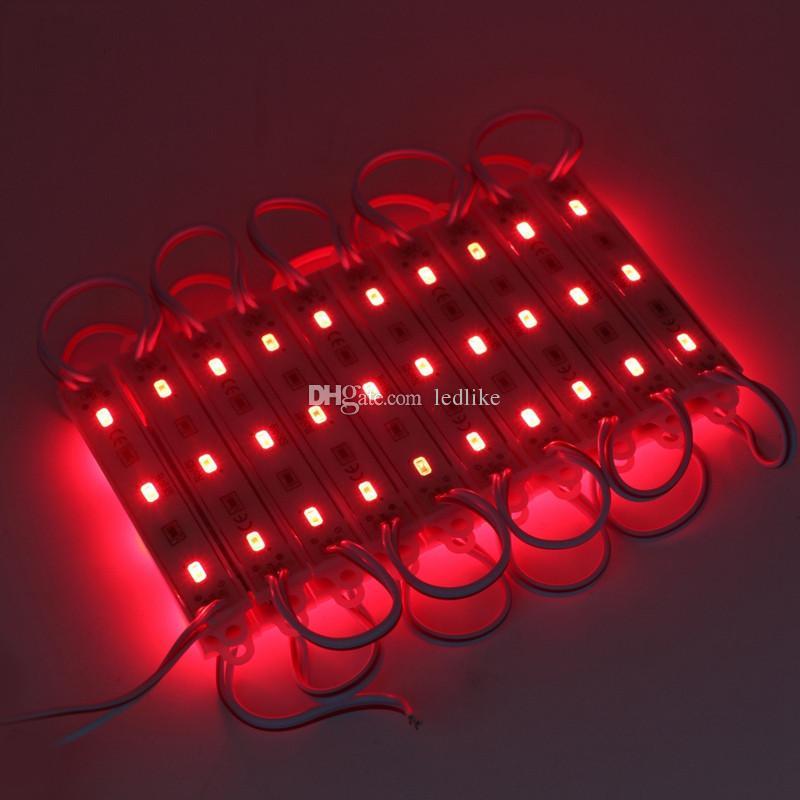 LED-Lichtmodul wasserdicht superbright SMD5630 LED-Lichtmodul Cool White / Warmweiß / Rot / Gelb / Blau / Grün DC12V