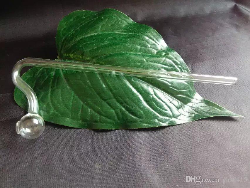 뱀 모양의 냄비 유리 봉 액세서리, 독특한 기름 버너 유리 파이프 물 파이프 Droppe와 흡연 유리 파이프 오일 굴착