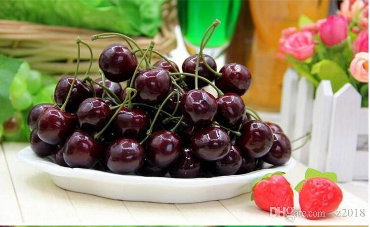 2017 Arrival Artificial Fruits Simulation Cherry Cherries Fake Fruit And  Vegetables Home Decoration Shoot Props From Sz2018, $0.14 | Dhgate.Com