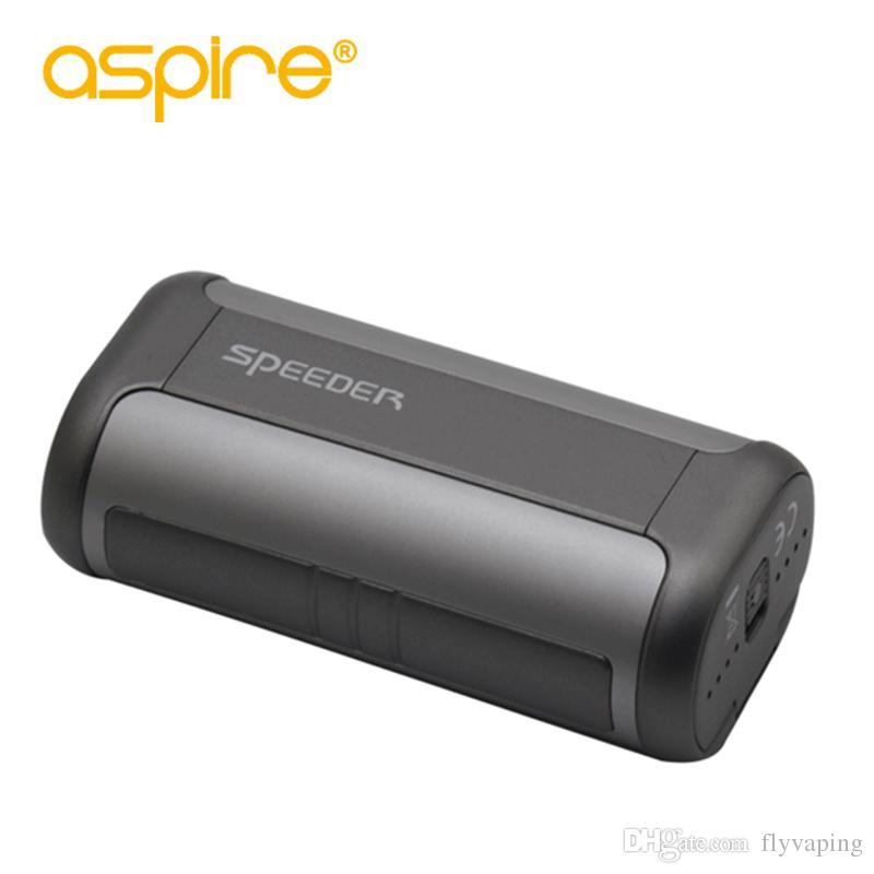 100% Genuine Aspire Speeder 200W box mod e cigarette fit for athos/cleito exo/rda atomizer
