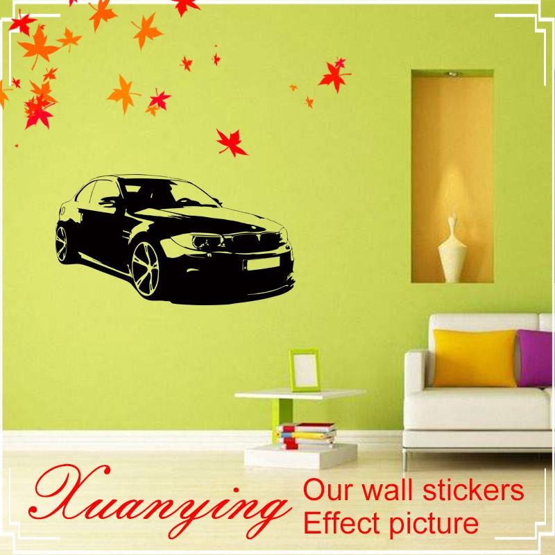 Personality Cool Car Wall Stickers Children Room Living Room Bedroom ...