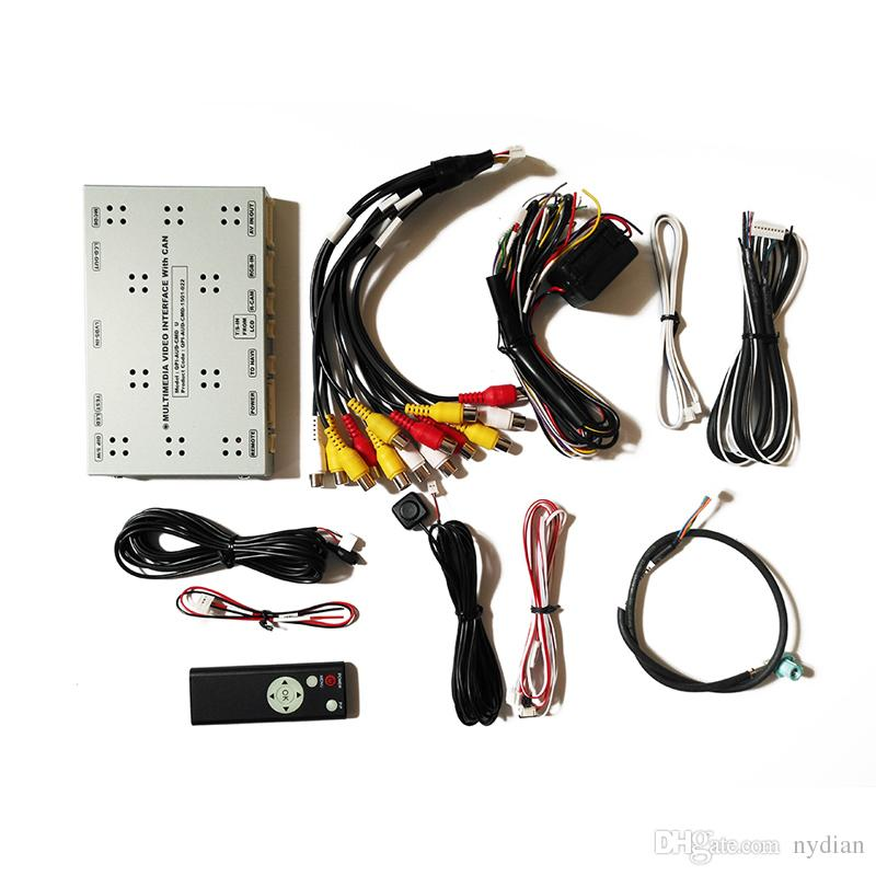 Car Multimedia Video Interface for Audi A4L/A6L/A8L/Q7 /Q5 MMI 3G / 3G Plus