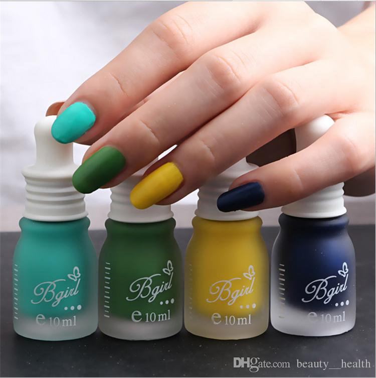 Nail Polish Luminous Bgirl Brand Candy Color Nail Art Polishes 10ml