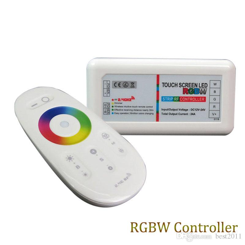 Best Price 1 Pcs Dc12~24v Led Controller 24a Wireless 4 Key Rf Controller Matching In Colour Rgb Controlers