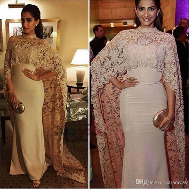 Muslim Evening Dress 2017 Sonam Kapoor In Paolo Sebastian Long ...