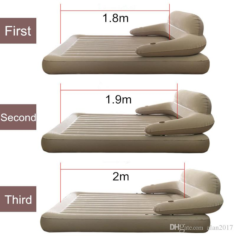 152cm*203cm*22cm Waterproof Inflatable Mattress Fast Inflatable Folding Bed With Backrest Cama Bedroom Furniture Mueble De Dormitorio